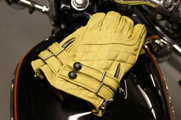 Waxed Tan Cafe Race Glove
