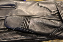 Goldtop Short Café Racer glove
