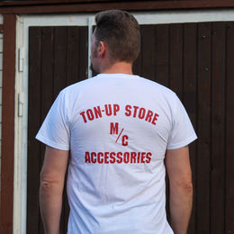 Ton-up Store M/C Accessories T-paita