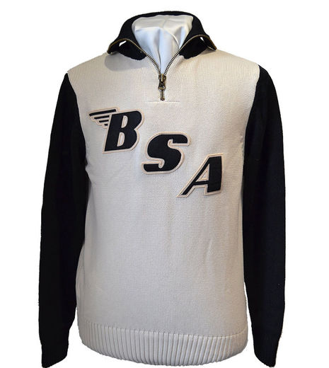 Limited Edition BSA x Goldtop Motorcycle Racing Sweater